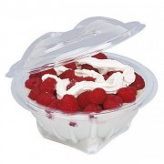 Vaschette per insalata PET 500 cc Pezzi 300
