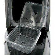Vaschette PET 2000 cc Rettangolari Pezzi 240