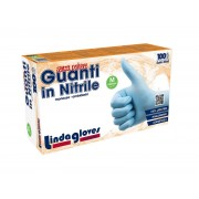 Guanti Monouso in Nitrile Lindagloves AQL 1,0 conf. 1000 pezzi